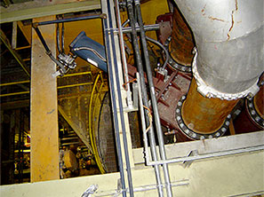 Pulverizer Outlet Installation