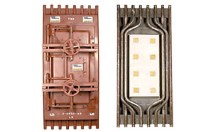 Boiler Door Custom Sizes Available