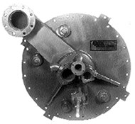 Inner Burner Barrel Back View