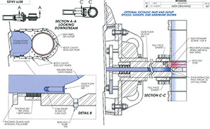 Knife Gate Valve Diagram