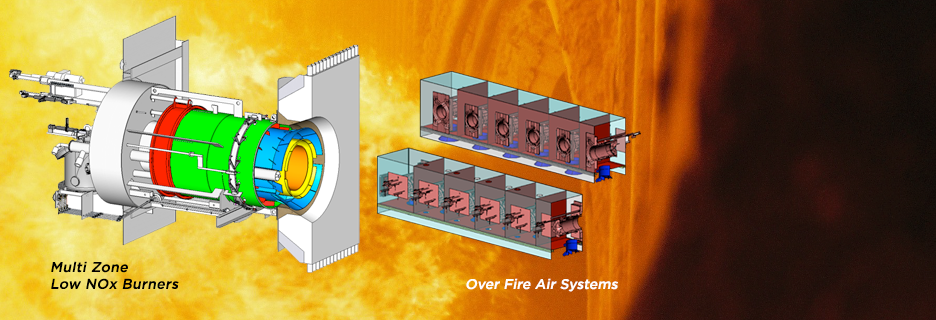 Full Service Low NOx Burner & Over Fire Air Supplier