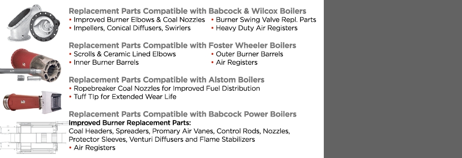 Leading Non-OEMs Burner Replacement Parts Supplier