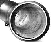 Silicon Carbide Lined Elbow Close-up