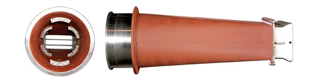 Rope Breaker Coal Nozzle