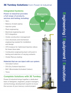 3E Turnkey Solutions