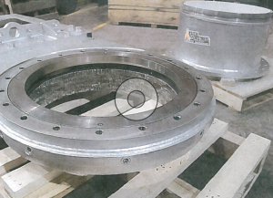 Tungsten Carbide Lining of Valve Outlet