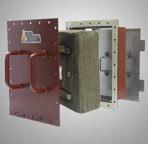 combined cycle hrsg access doors